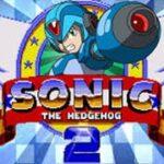 Megaman X in Sonic 2