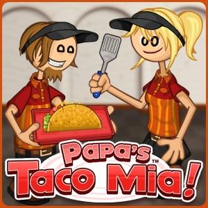 Papa's Taco Mia game